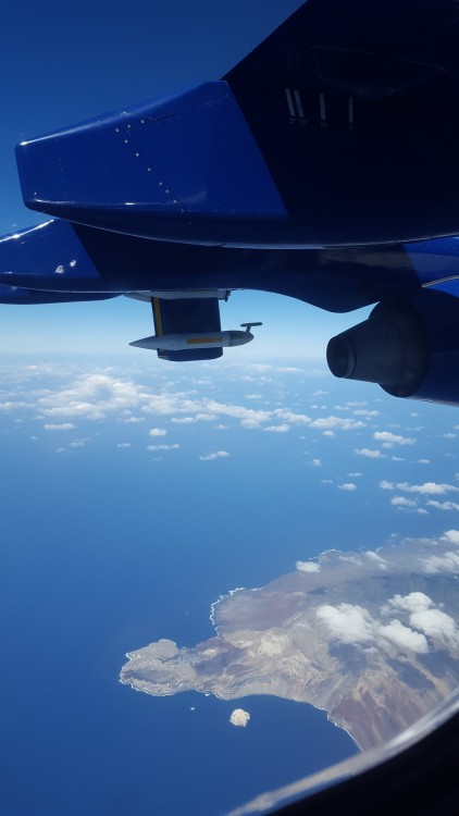 Ascension Island from the sky